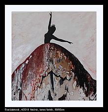 Obrazy - Nežná, tanec farieb - 9424019_