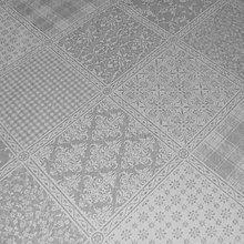 Úžitkový textil - Krémovo sivý patchwork - stredový obrus - 9423272_