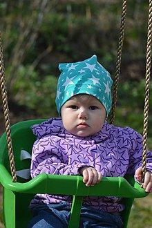 Detské čiapky - čiapočka jarná - 9421508_