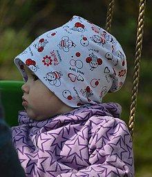 Detské čiapky - čiapočka včielky - 9421509_