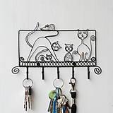 Pre zvieratká - vešiak mačacia rodinka - 9428834_