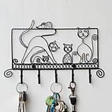 Pre zvieratká - vešiak mačacia rodinka - 9428835_