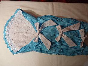 Textil - Zavinovačka predĺžená - tyrkyska - 9428664_