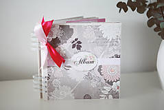 Papiernictvo - Scrapbook album na fotografie - 9426667_
