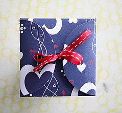 Papiernictvo - Obal na CD (Modrá) - 9426728_