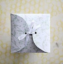 Papiernictvo - Obal na CD (Zelená) - 9426734_
