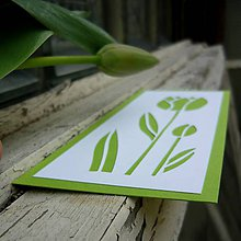 Papiernictvo - Tulipány svieže... - 9425367_