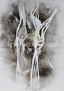 Obrazy - strom samotár - 9428143_