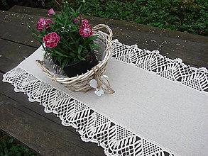Úžitkový textil - ľanové prestieranie