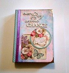 Papiernictvo - Ručne šitý diár * zápisník * sketchbook A5 - 9426523_