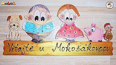 Tabuľky - Menovka - rodinka - 9427419_