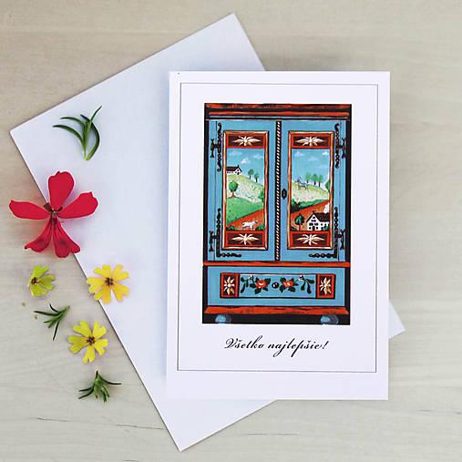 Pohľadnica so skrinkou