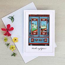 Papiernictvo - Pohľadnica so skrinkou - 9428826_