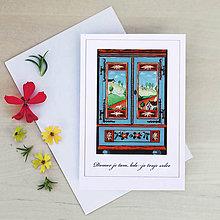 Papiernictvo - Pohľadnica so skrinkou (D.) - 9428829_