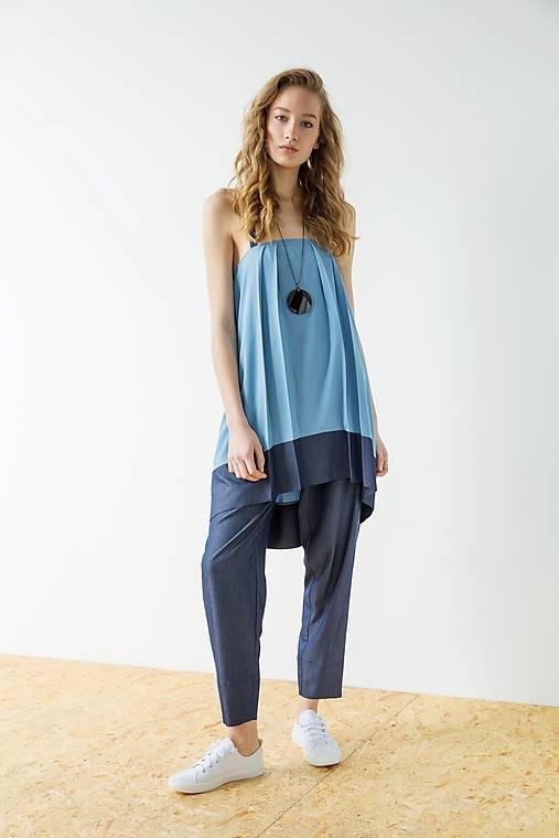 Modré šaty Wrinkle - sleva 15 EUR!