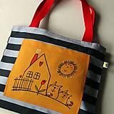 PRUHOVANÝ SVĚT - velká taška