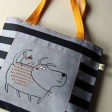 Veľké tašky - Taška velká PSÍ - 9428852_