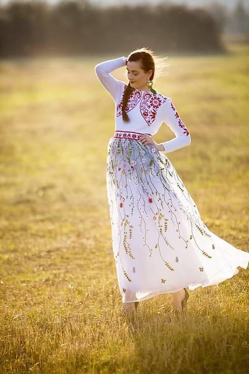 Krajkové šaty Slavianka