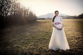 Šaty - Krajkové svadobné šaty Slavianka - 9425667_