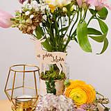 - Označenie stolov na svadbu (U pána jeleňa) - 9427971_