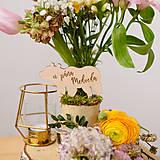 - Označenie stolov na svadbu (U pána medveďa) - 9427983_