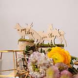 Dekorácie - Označenie stolov na svadbu (Sada 8mich zvieratiek) - 9427994_