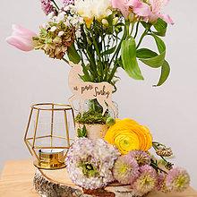 Dekorácie - Označenie stolov na svadbu (U pani srnky) - 9427968_