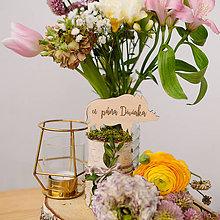 Dekorácie - Označenie stolov na svadbu (U pána diviaka) - 9427984_