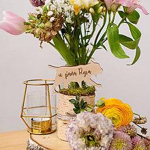 Dekorácie - Označenie stolov na svadbu (U pána rysa) - 9427988_