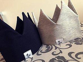 Detské čiapky - Korunky a šatky na hlavičky  (Čierna) - 9425076_