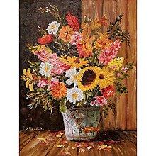 Obrazy - Zátišie s kvetmi - 9428091_
