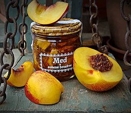 Potraviny - Med a sušené broskve - 9426128_