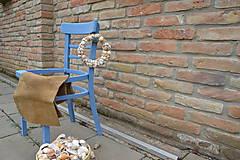 Polotovary - Stolička na recykláciu, stojan na kvety, dekorácia - 9428481_