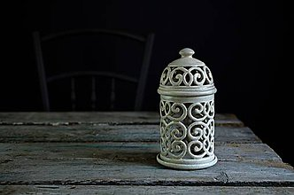 Svietidlá a sviečky - Aromalampa šedá - 9425211_