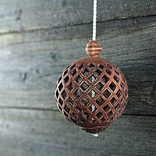 Dekorácie - Aroma ozdoba patina železo - 9425755_