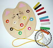 Hračky - mačka 2v1 farebná - 9428786_