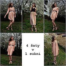 Šaty - Multifunkčné 4 šaty v 1 sukni - 9427594_