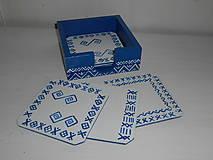 Krabičky - Podložky pod poháre čičmany - 9428220_