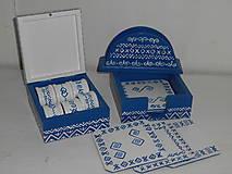 Krabičky - Sada čičmany do vašej kuchyne - 9428339_