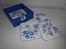 Krabičky - Podložky pod poháre cibulák - 9428571_