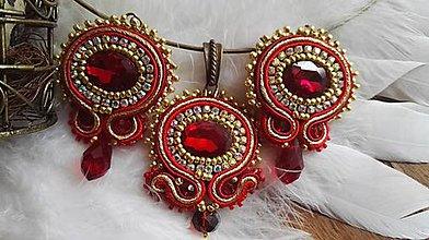 Sady šperkov - Marta - soutache set - 9425815_