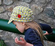 Detské čiapky - ŠILTOFKA bez plachtičky - na objednávku - 9425183_