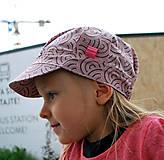Detské čiapky - ŠILTOFKA bez plachtičky - na objednávku - 9425184_