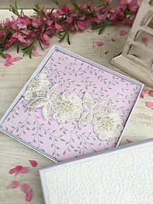 Bielizeň/Plavky - Jednoduchý svadobný podväzok Ivory - 9428065_