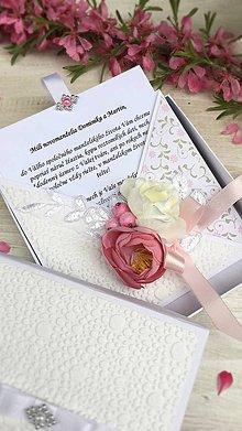 Papiernictvo - Poďakovanie rodičom alebo svadobná pohľadnica - 9428860_