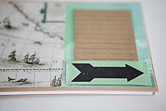 Papiernictvo - Cestovateľský album na fotografie - 9430675_