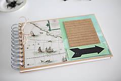 Papiernictvo - Cestovateľský album na fotografie - 9430676_