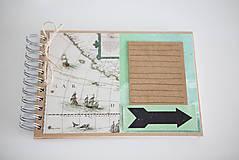 Papiernictvo - Cestovateľský album na fotografie - 9430677_