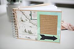 Papiernictvo - Cestovateľský album na fotografie - 9430678_