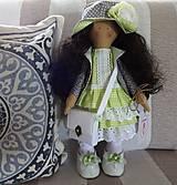 Bábiky - Bábika zelenošedá - 9432502_